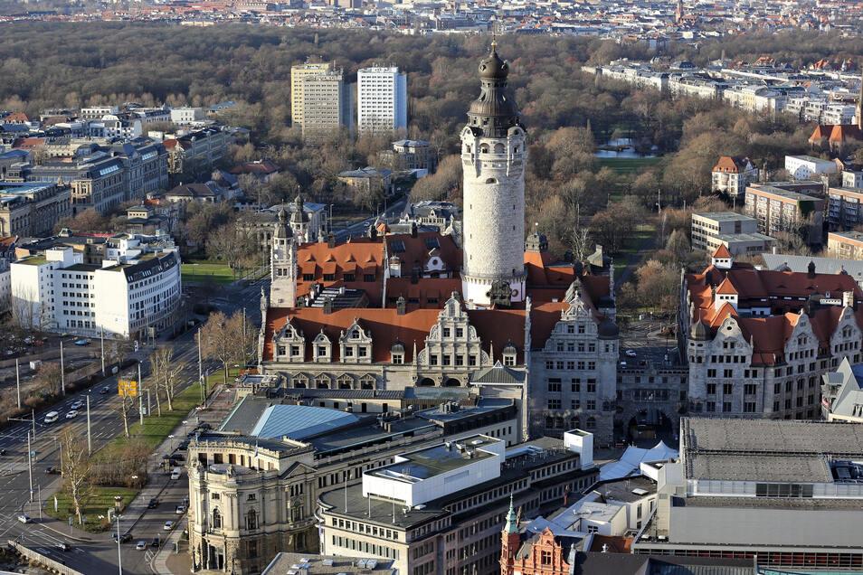In Leipzig konnte die Linke 2017 ein Direktmandat holen - das einzige außerhalb Berlins.