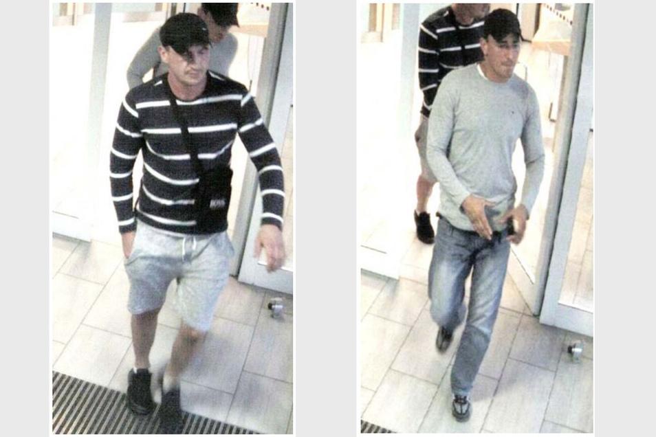 Tatverdächtige Manipulation Geldautomaten Oberlausitz. 2 Männer Bautzen, 1. September