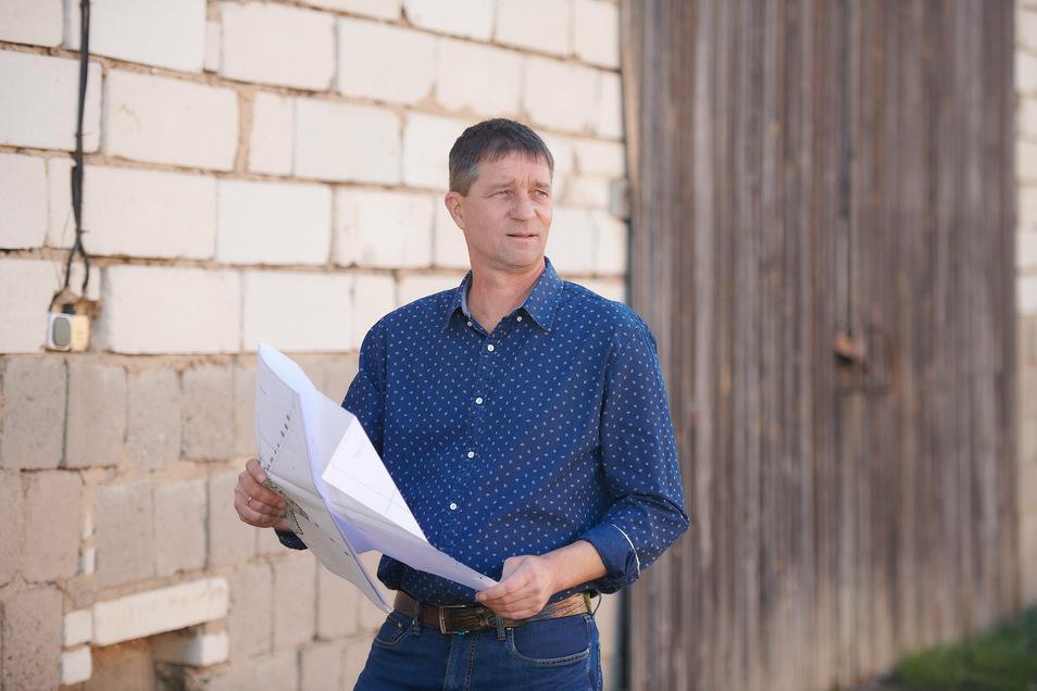 Vom Bauamtsleiter zum Bürgermeister: Dirk Zschoke wurde jetzt vereidigt und verpflichtet.