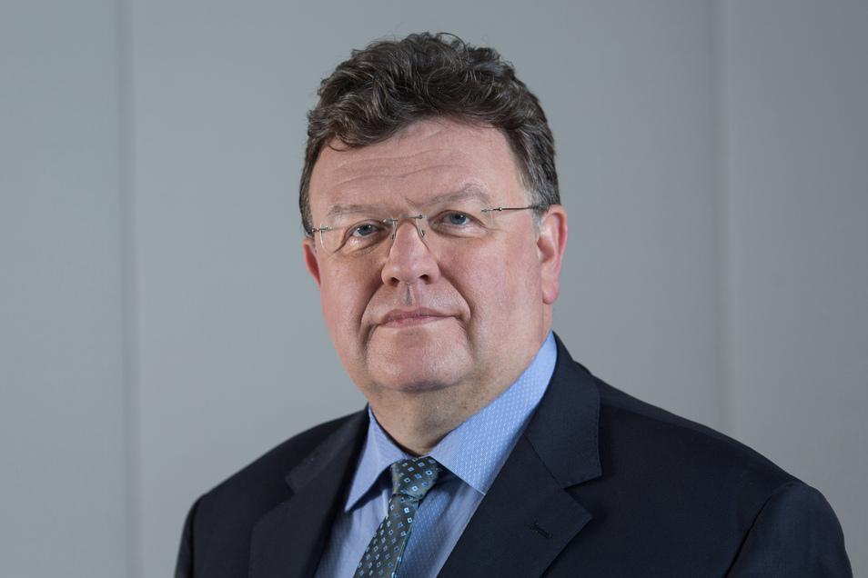 Der ehemalige sächsische Staatskanzlei-Chef Johannes Beermann (59) ist seit 2015 Vorstandsmitglied der Bundesbank. Deutschland ohne Bargeld ist für ihn so gut wie nicht vorstellbar.