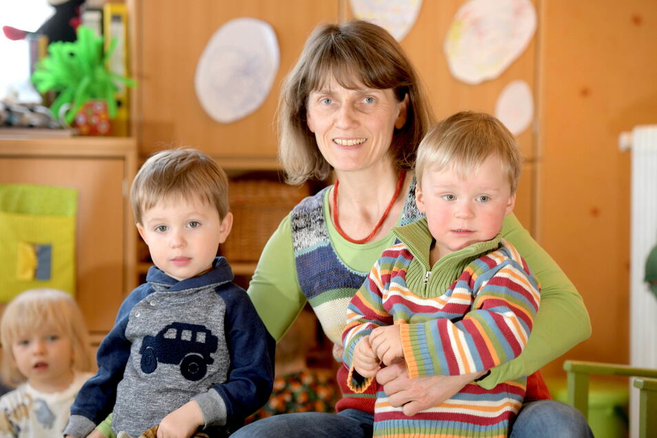 Tagesmutter Annett Gnieser will wie ihre Kollegin weitermachen.