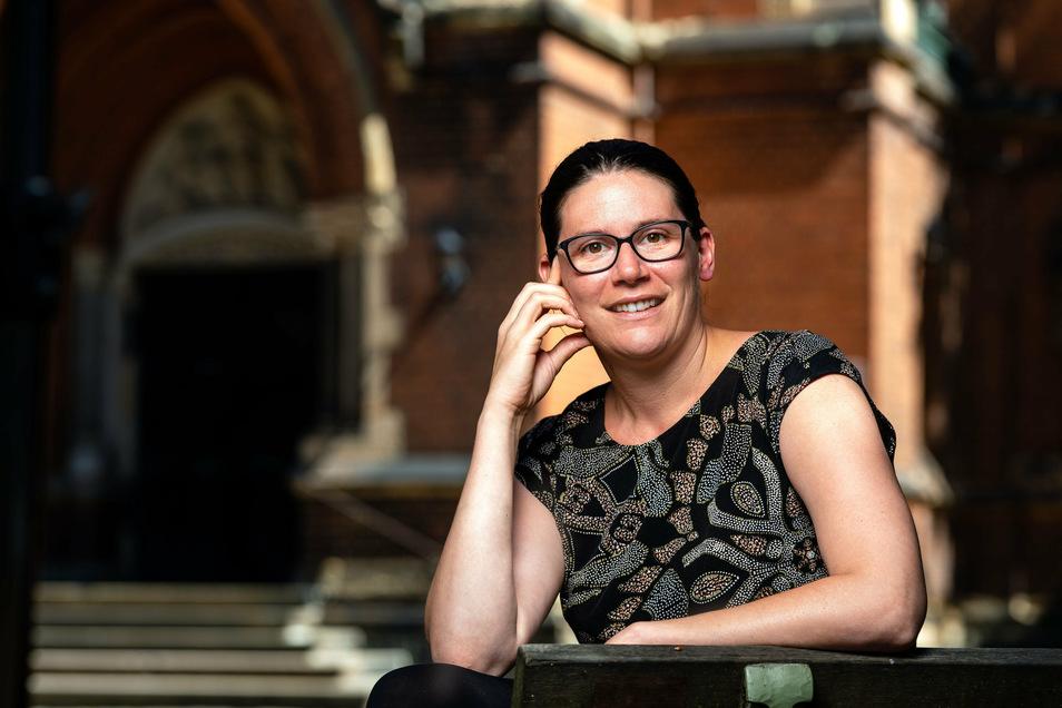 Annalena Schmidt hat in Bautzen immer wieder öffentliche Diskussionen gestartet oder sich in diese eingebracht, wie etwa im Februar 2019 in der Maria-Martha-Kirche. Jetzt verlässt sie die Stadt.