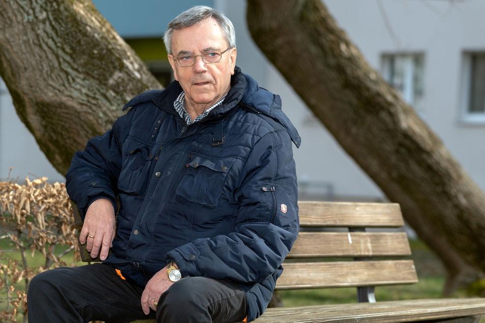 Werner Guder bekam dieses Jahr den Ehrenamtspreis für sein Wirken im und für den Städtepartnerschaftsverein. Wer folgt ihm 2022?