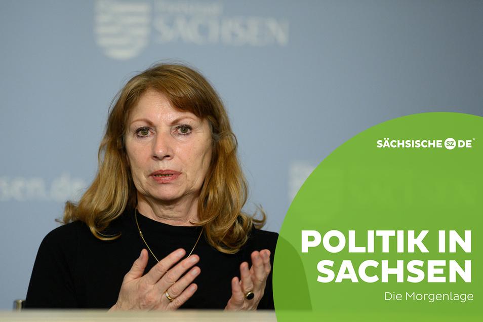 Gesundheitsministerin Petra Köpping will das Impfen beschleunigen.