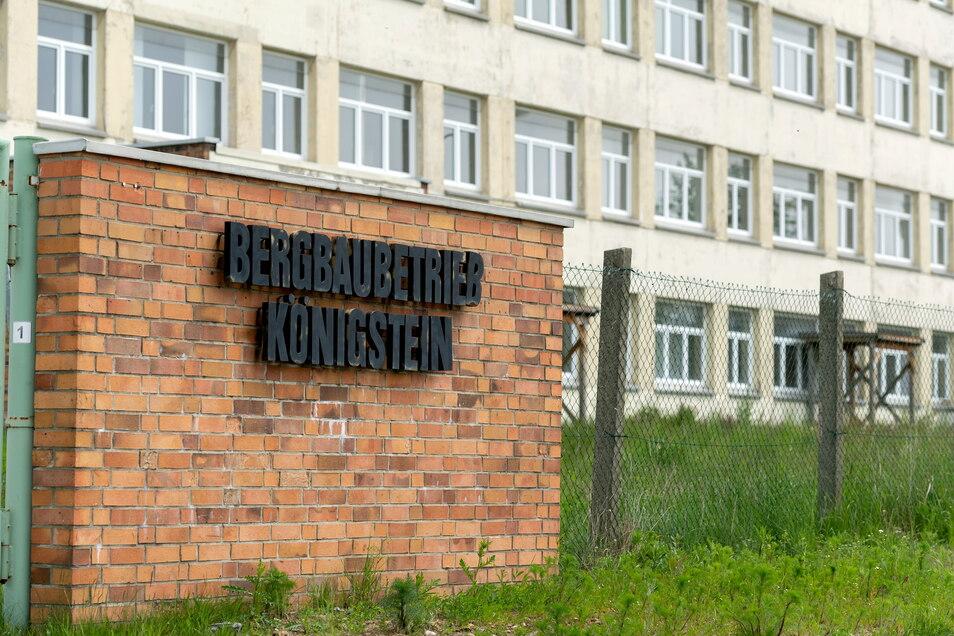 Zweieinhalbtausend Menschen arbeiteten einst bei der Königsteiner Wismut. Inzwischen haben Vögel und Fledermäuse das geräumte Verwaltungsgebäude besetzt.