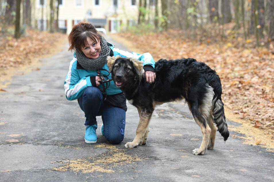 Regina Barthel-Marr ist die Vorsitzende des Tierschutzvereins Freital und steht vor vielen Problemen.