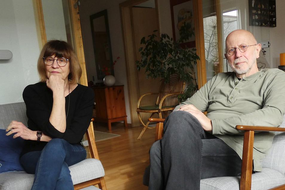 Beate und Michael Renner – ihr Ruhestand ist gar keiner. Der Kultur in Hoyerswerda sind sie auch heute noch sehr verbunden.