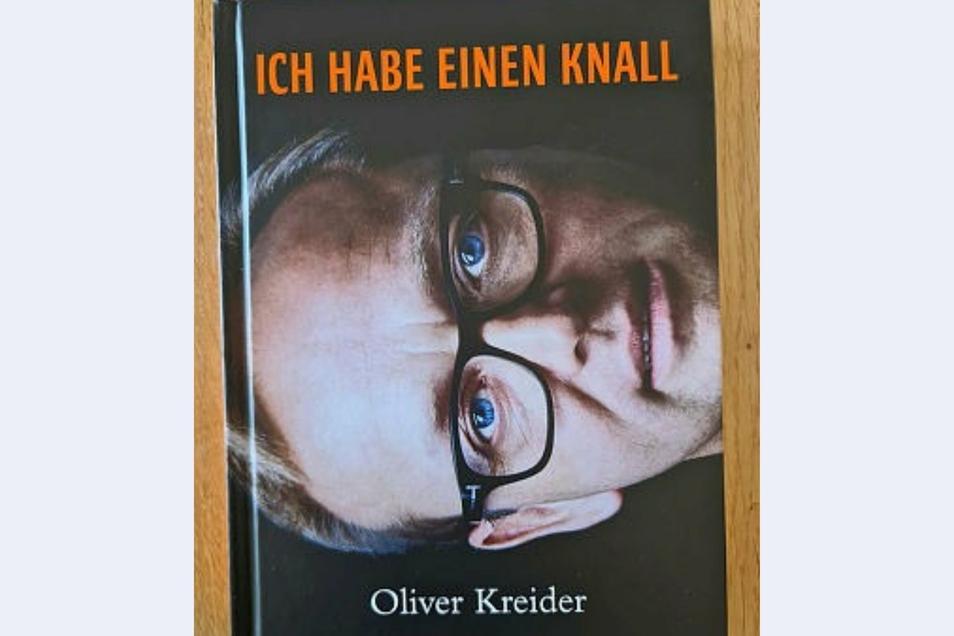 """In seinem Buch """"Ich habe einen Knall"""" schildert Oliver Kreider auch, wie er überhaupt nach Radebeul gelangte und sich jetzt hier wohl fühlt."""