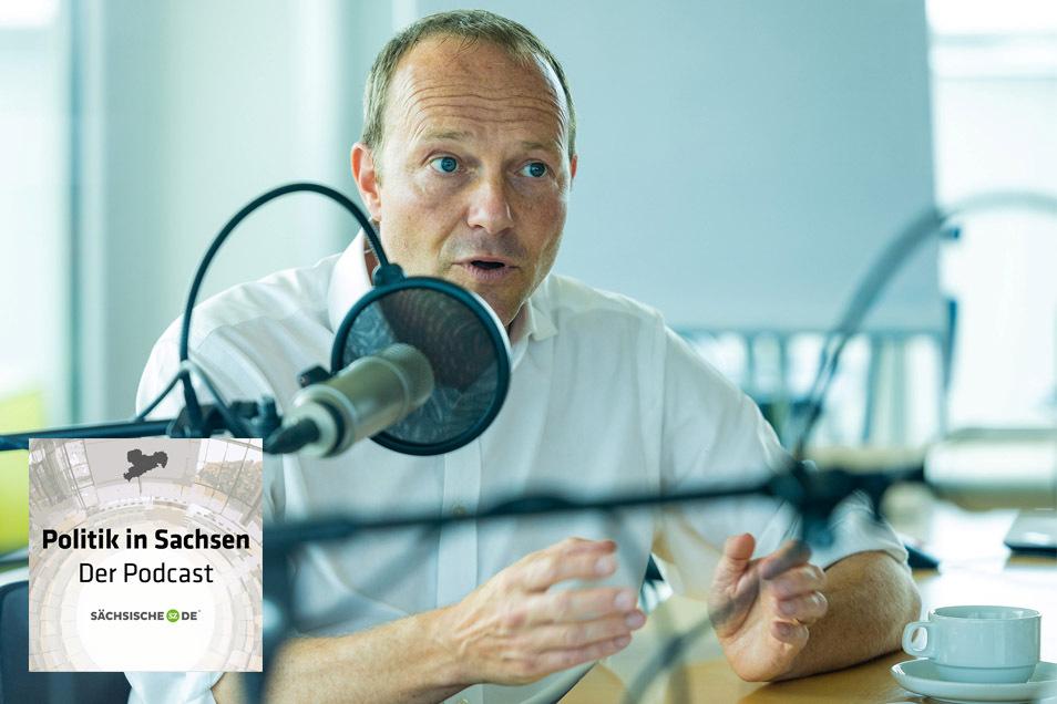 Sachsens Umweltminister Wolfram Günther