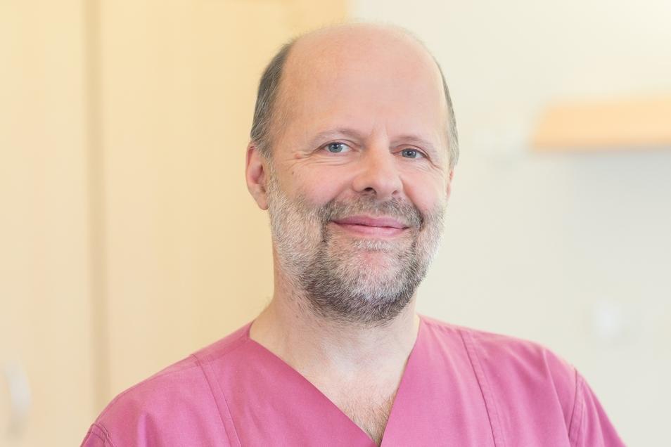 Dr. Norbert Lorenz ist Oberarzt der Kinder- und Jugendklinik am Städtischen Klinikum Dresden.