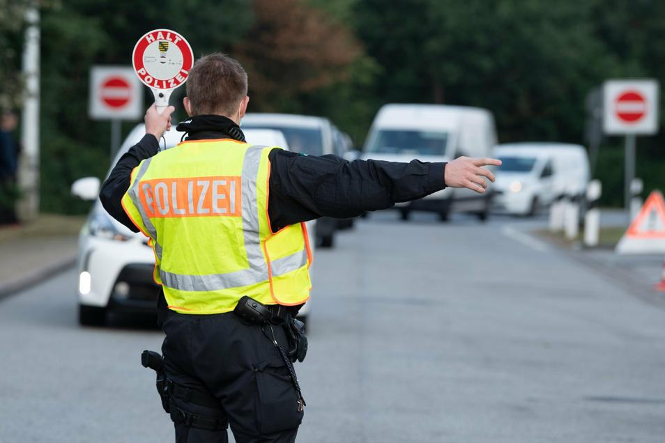 Anlässlich des Schulanfangs hat die sächsische Polizei die Kontrollen verschärft.