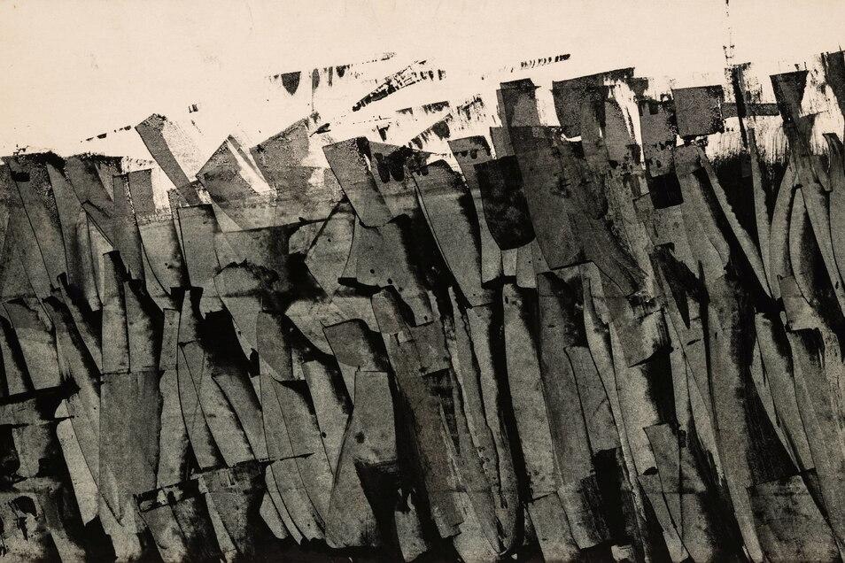 Raimund Girke: Ohne Titel, 1958