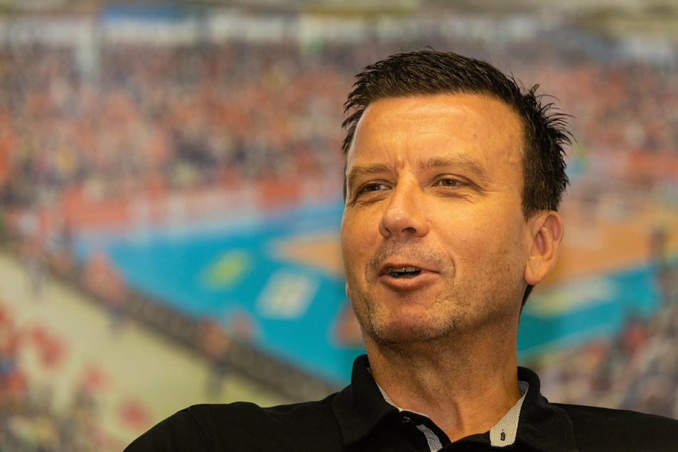 """DSC-Trainer Alexander Waibl beurteilt die unklare Lage gelassen: """"Da muss man einfach durch."""""""
