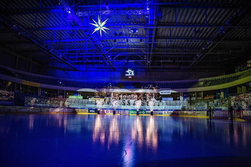 Die Energieverbund-Arena soll bald erstligatauglich sein.