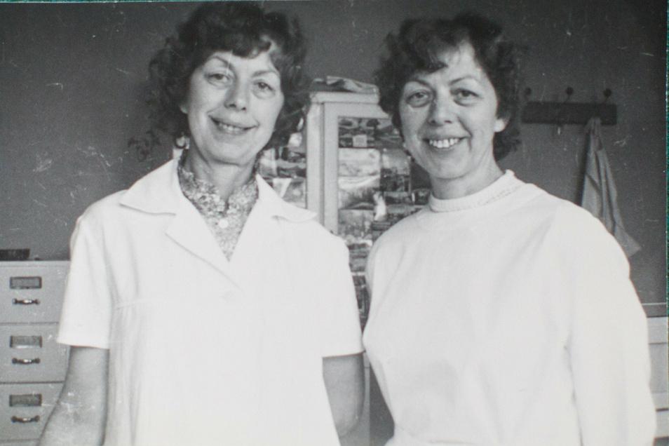 In der Poliklinik fanden beide auch ihr berufliches Glück.