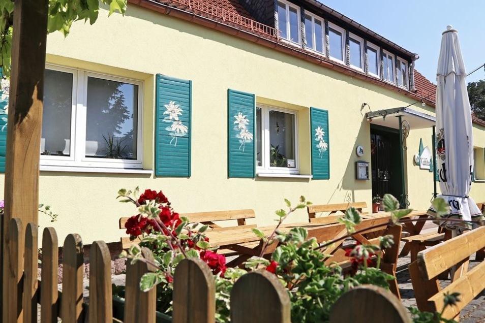 Privatisiert: das Waldhäusl Frauenhain.