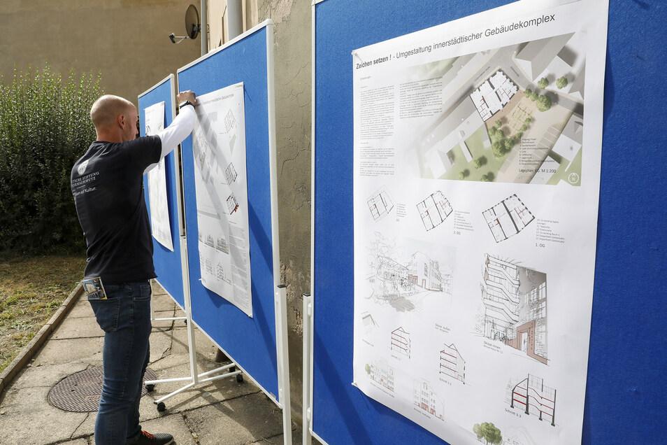 Die drei prämierten Projekte werden vorgestellt.