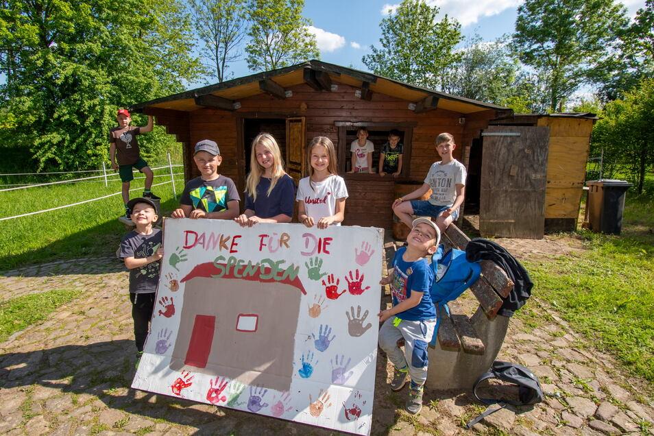 Die Jugend von Börtewitz wünscht sich einen Treff. Dafür soll der frühere Jugendclub unweit der Kirche wiederbelebt werden. Fürs Renovieren sammeln die Eltern der künftigen Nutzer derzeit ziemlich erfolgreich Geld- und Sachspenden.