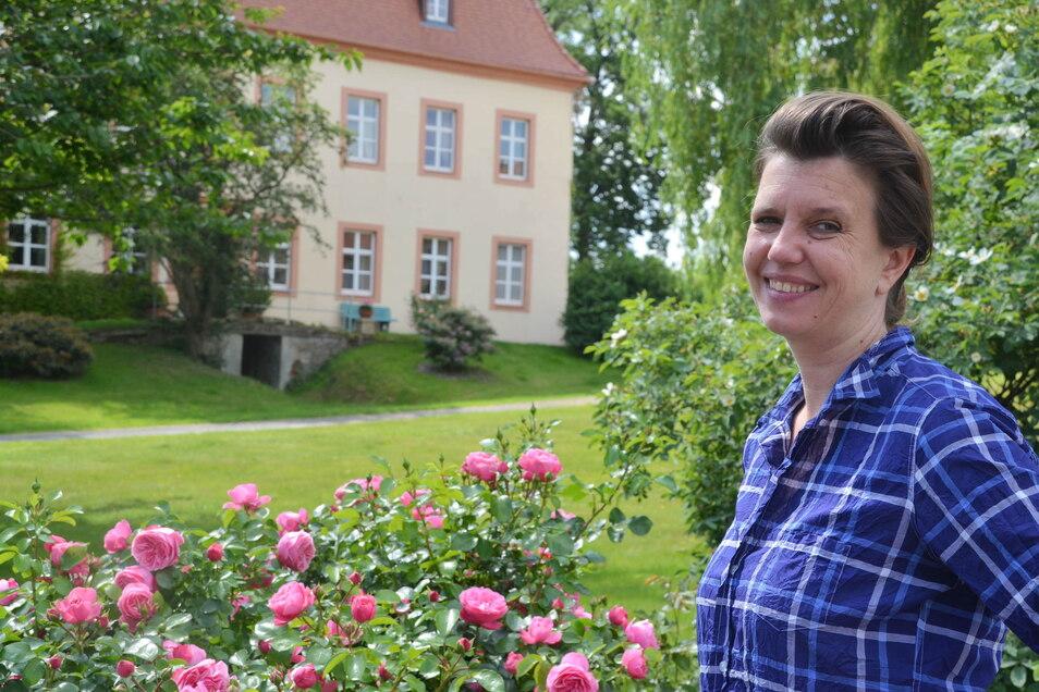 Yvonne von Wallenberg wird den Friedwald in Deutsch Paulsdorf weiterführen.