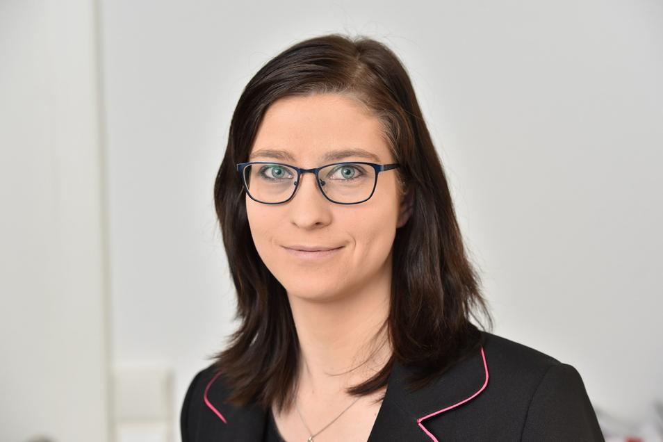 Sophia Mäschker ist die Geschäftsführerin der Wohnungsbau- und Verwaltungsgesellschaft Altenberg.
