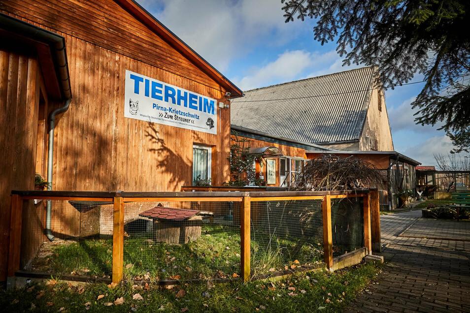 Für den Besucherverkehr bleibt das Tierheim Pirna geschlossen.