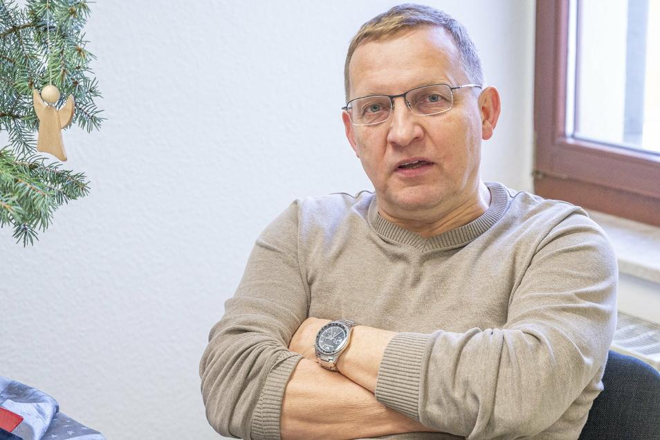 Stadtrat Markus Mütsch ist sauer: Wegen einer Mitteilung im Riesaer Amtsblatt hat er jetzt Anzeige erstattet.