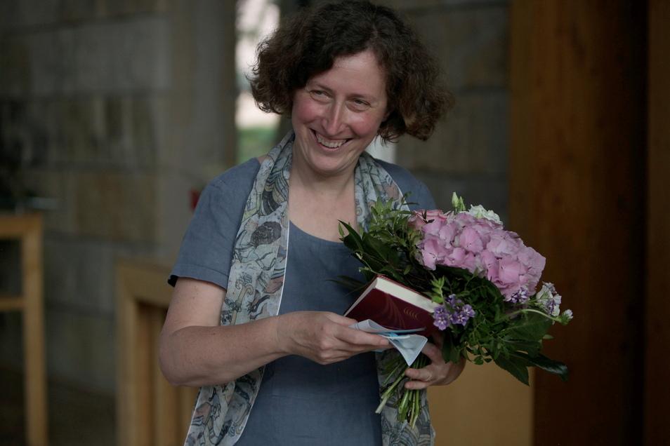 Eindeutiges Votum: Brigitte Lammert wurde bereits im Juni von der Pirnaer Kirchenbezirkssynode zur neuen Superintendentin gewählt.