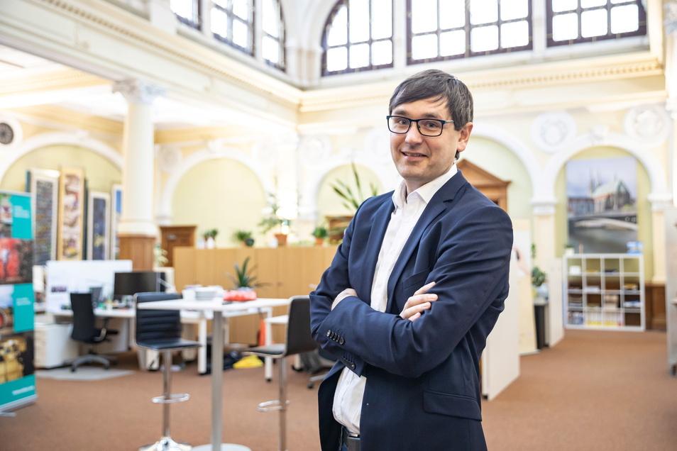 Sven Mimus hört zum Jahresende als Geschäftsführer beim Museumsverbund auf.