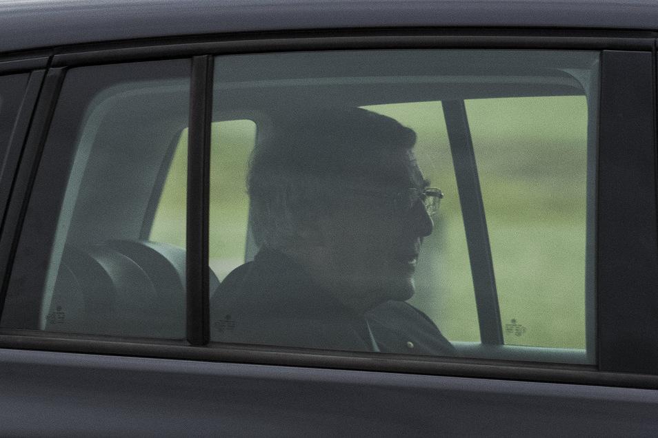 Kardinal George Pell verlässt am Dienstag in einem Wagen das HM Gefängnis Barwon in Geelong, Australien. Foto: