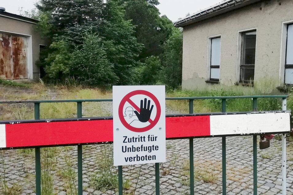 Das Areal des Bahnbetriebswerkes ist ungenutzt. Die Stadt Kamenz würde es gern übernehmen.