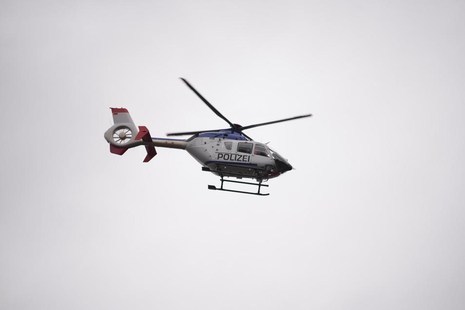 ... dieser Hubschrauber zum Einsatz.