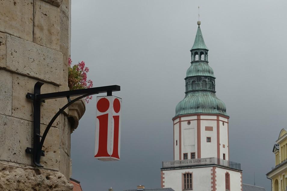 Die Stadtinfo im Rathaus ist erster Anlaufpunkt für Touristen.