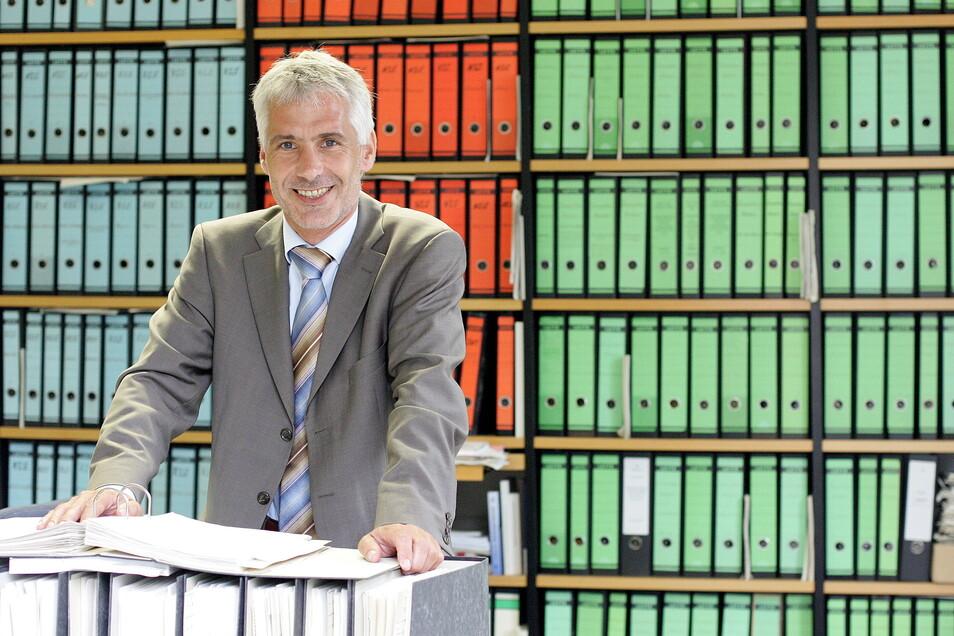 """Der Dresdner Konjunkturforscher Professor Joachim Ragnitz sieht Wachstum für Sachsen voraus - aber keinen """"Super-Aufschwung""""."""
