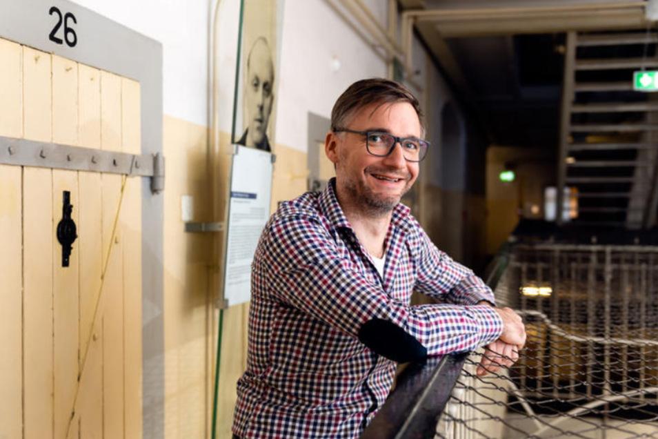Sven Riesel arbeitet als Historiker in der Gedenkstätte Bautzen.