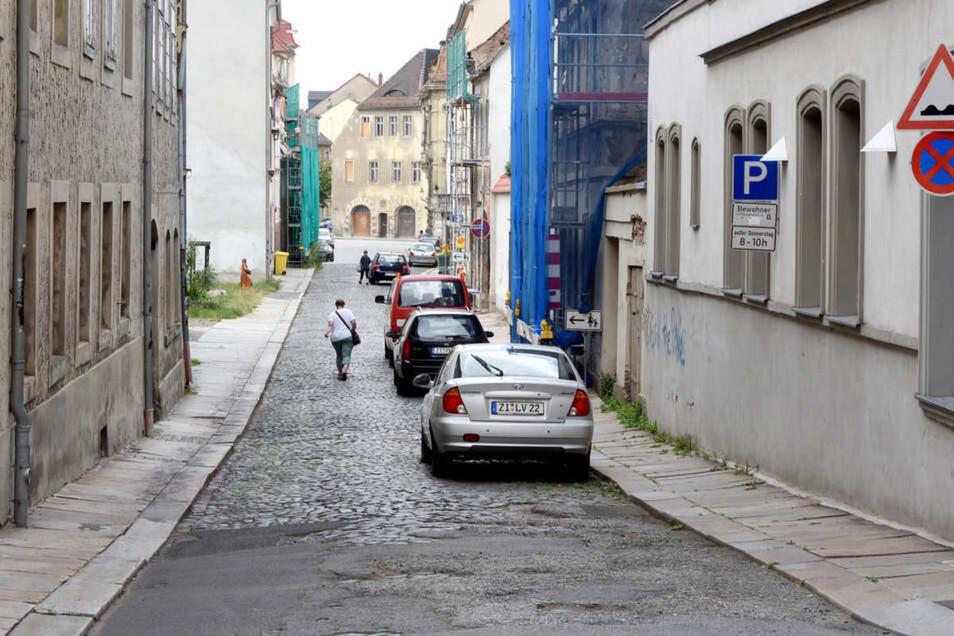 Vor Ostern wird auf der Amalienstraße in Zittau nicht gebaut.