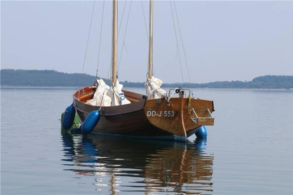 ... waren auch etwas betagtere Modelle auf dem See zu bewundern.