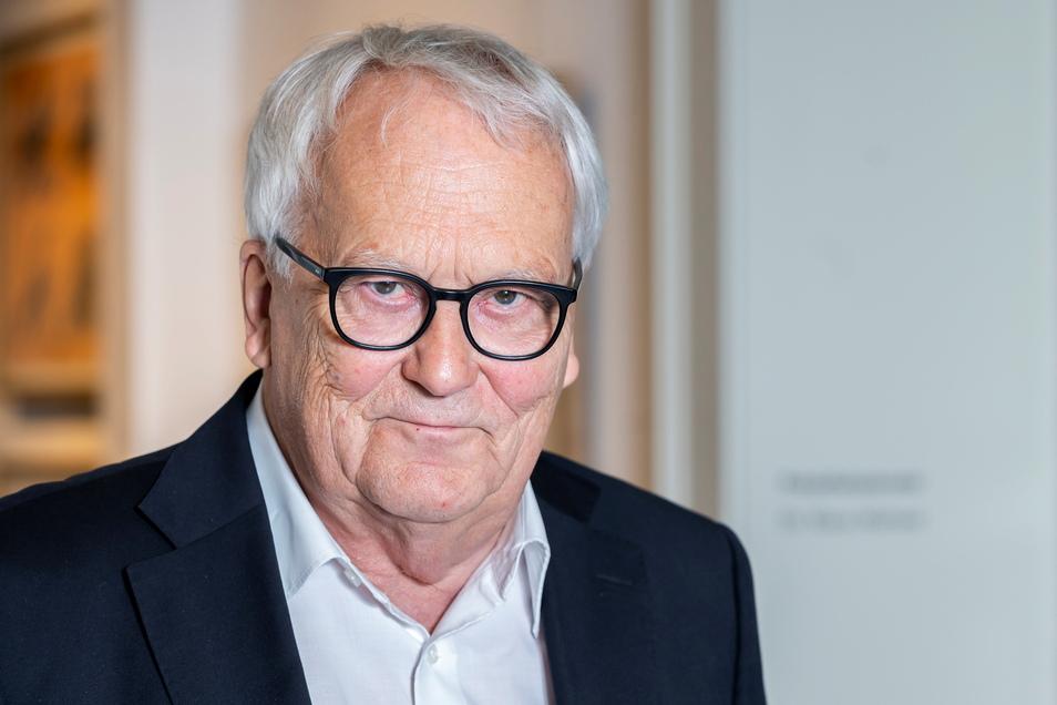 Dramaturg und Regisseur Holk Freytag war bis 2020 Präsident der Sächsischen Akademie der Künste, Außerdem arbeitete er als Intendant am Staatsschauspiel Dresden. Am 23. September leitet er die Nacht der Künste in Dresden.
