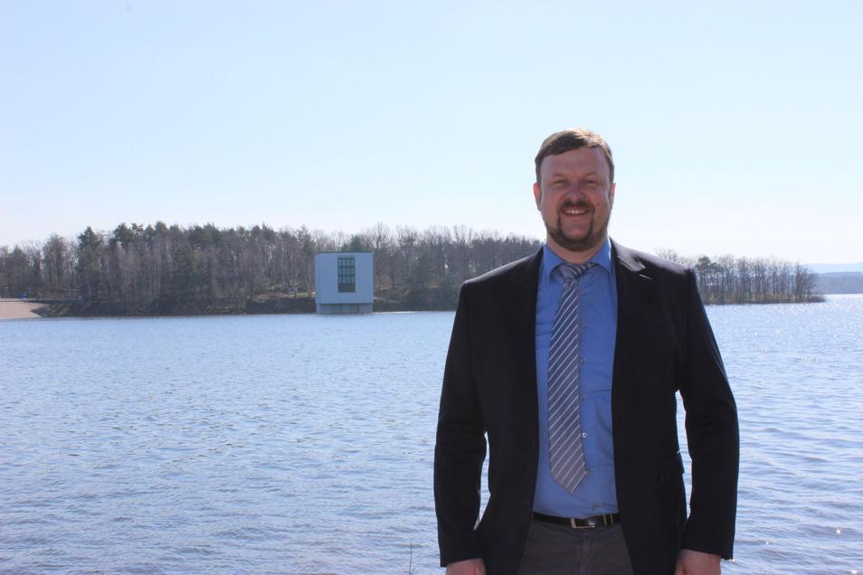 Stefan Jentsch ist neuer Leiter des Betriebes Spree/Neiße der Landestalsperrenverwaltung in Bautzen.