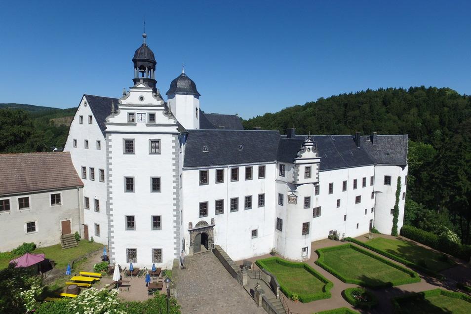 Das Schloss Lauenstein zählt zur Montanregion Altenberg-Zinnwald, die nun als einheitliche Kulturlandschaft gesehen wird.