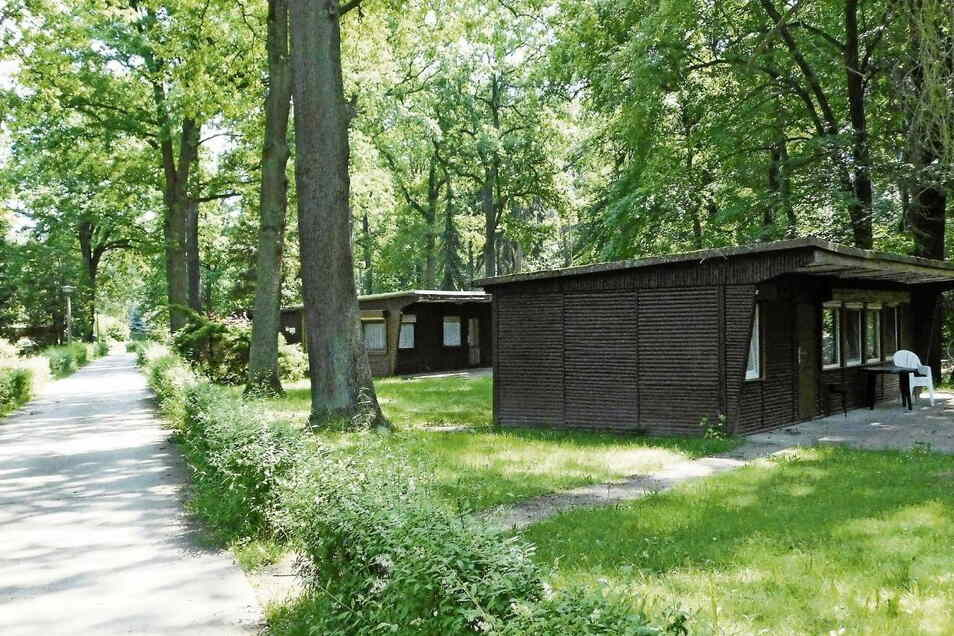 ln der Bungalowsiedlung in Krauschwitz gibt es 21 private und kommunale Ferienhäuser.