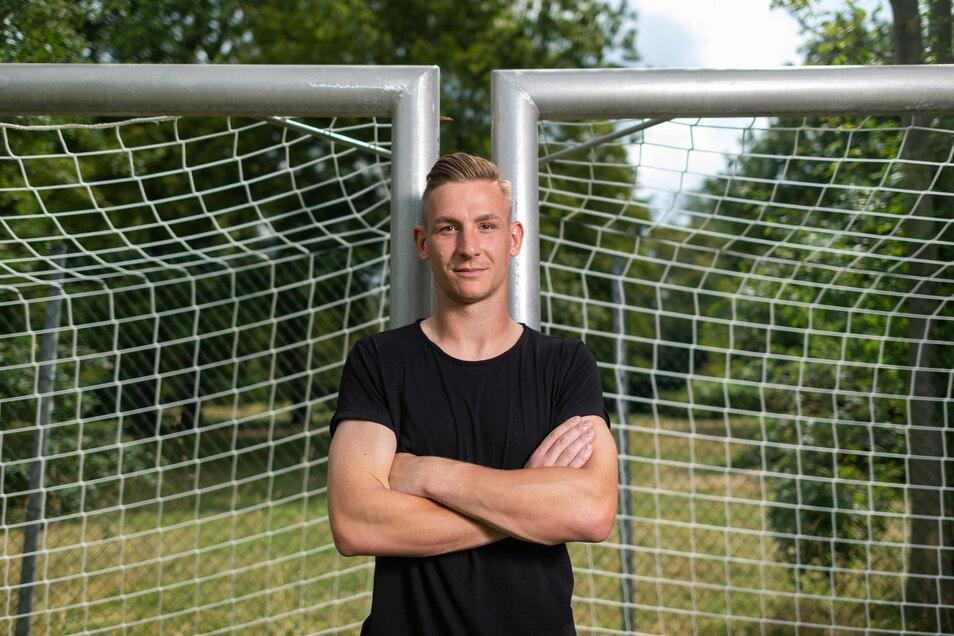 Als Torwart hat Kevin Broll eine besondere Position, eine Sonderrolle möchte der Neuzugang von Dynamo jedoch nicht.