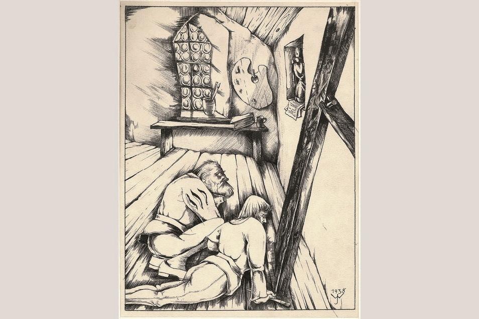 Ein weiteres Werk von Johannes Wüsten, das die Görlitzer Sammlungen beherbergen.
