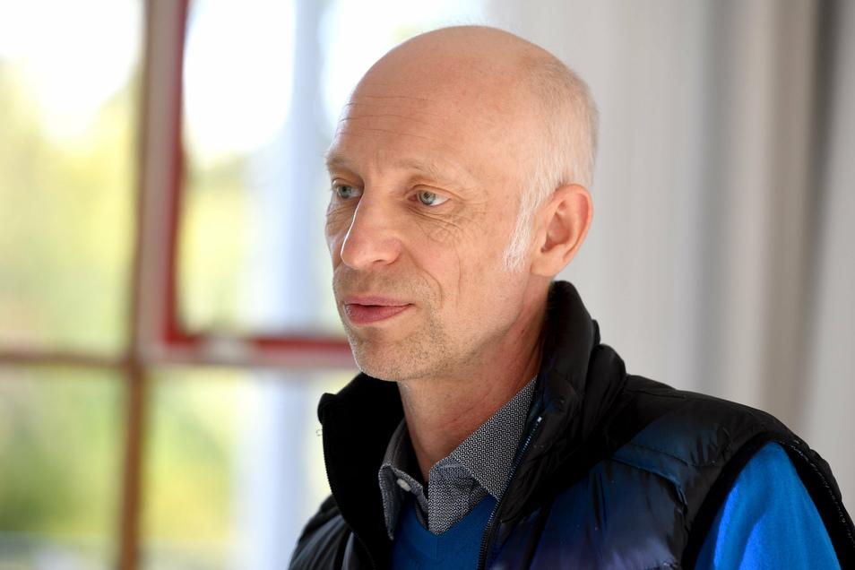 Michael Reink, Präsident des City-Management-Verbandes Ost. Zweimal im Jahr lädt er die ostdeutschen City Manager zu Tagungen in den neuen Bundesländern ein. Diesmal war Löbau und Zittau an der Reihe.