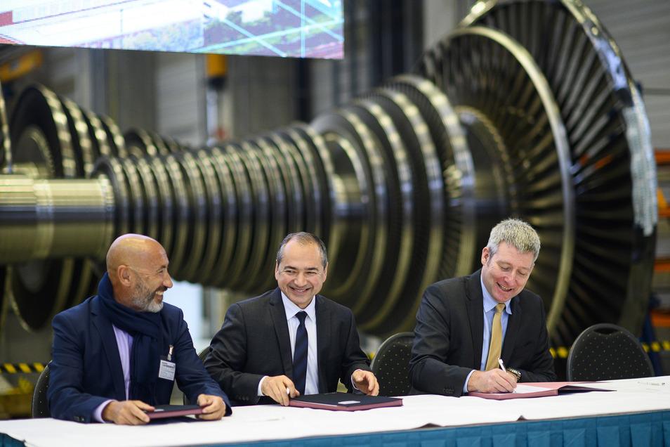 Vertreter der Technischen Universität Dresden und von Siemens bekundeten im Dezember die Absicht, zusammen mit der Stadt Görlitz am Innovationscampus Görlitz zu arbeiten.