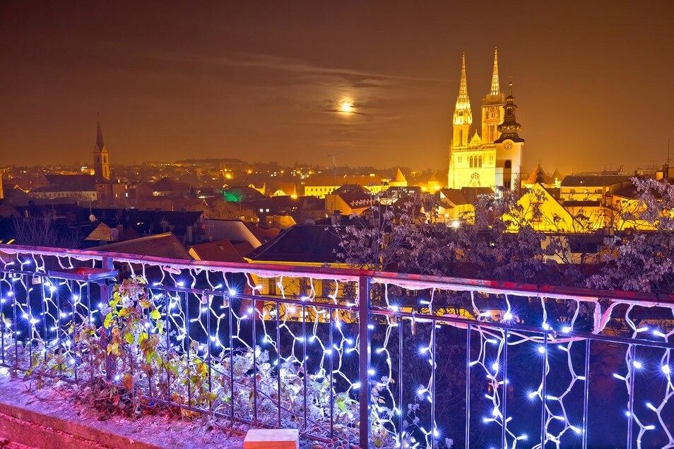 Zagreb zum Jahreswechsel