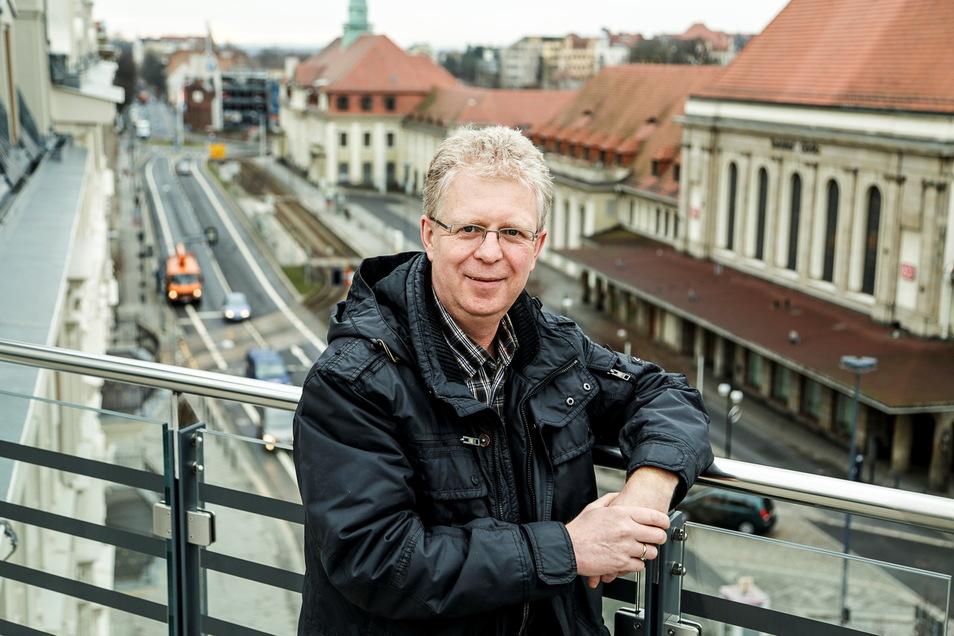 Holger Freymann leitet das Amt für Kreisentwicklung beim Landkreis Görlitz.