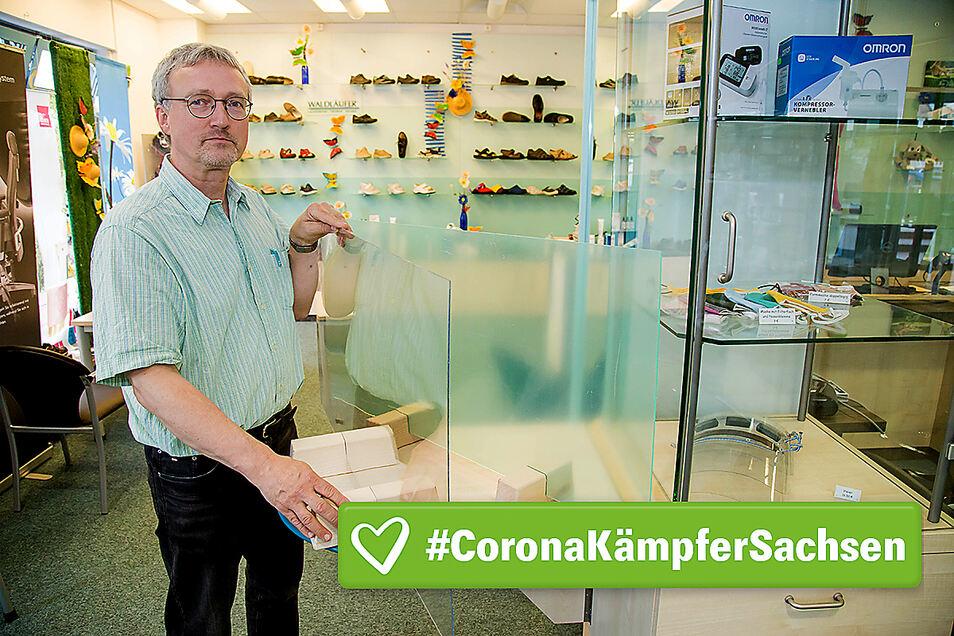 Henning Scheinpflug hat mit seinen Scheinpflug Gesundheitsdiensten zu Beginn der Coronakrise schnell reagiert.