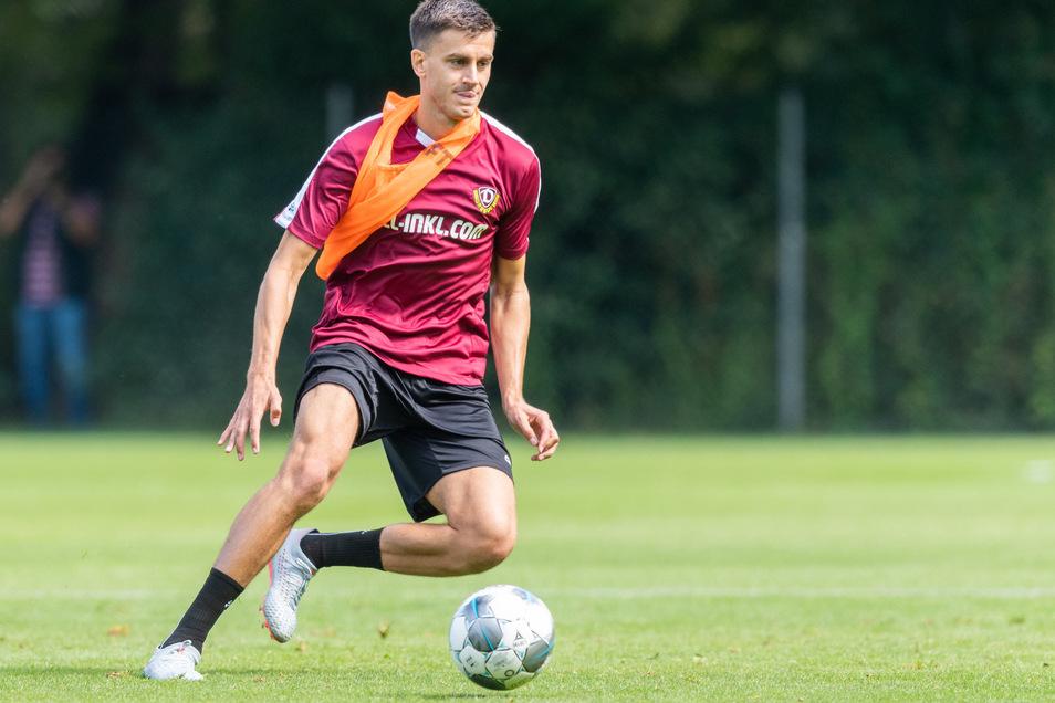 Seine Chancen auf einen Platz in der Anfangself sind noch größer: Neuzugang Alexander Jeremejeff gilt als spiel- und kopfballstark.