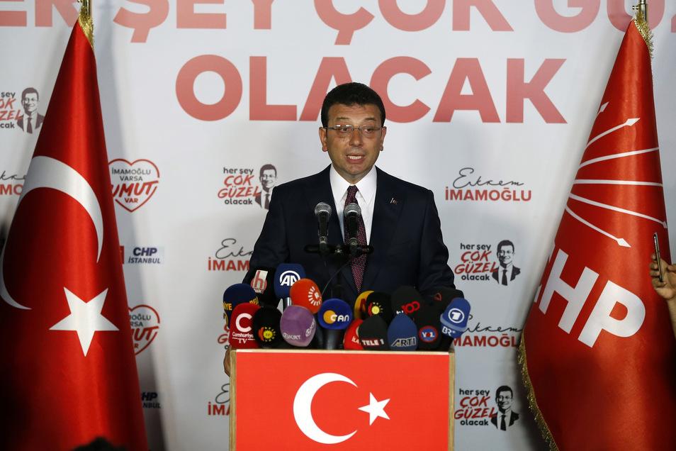 Ekrem Imamoglu hat die Wahl in Istanbul ein zweites Mal gewonnen.