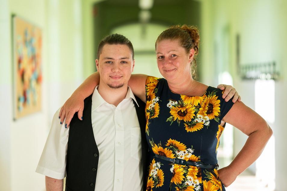 Justin und Heike Geduhn haben eine ungewöhnliche Geschichte: Zusammen holten sie ihren Realschulabschluss nach.